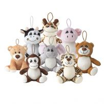 "5"" Ultra Soft Cuddly Plush Toys"